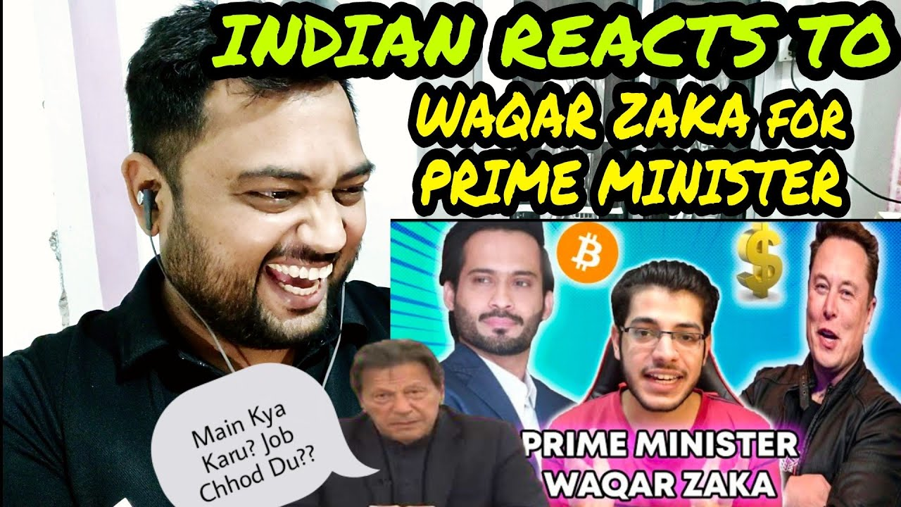 WAQAR ZAKA vs THUGS OF PAKISTAN | Indian Reaction | Bitcoin Battle
