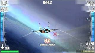 After Burner: Black Falcon Sony PSP Trailer -