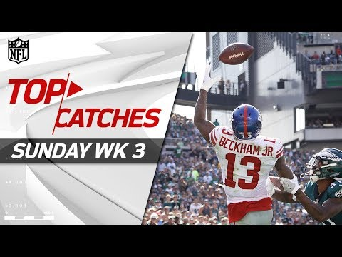Top Catches from Sunday | NFL Week 3 Highlights