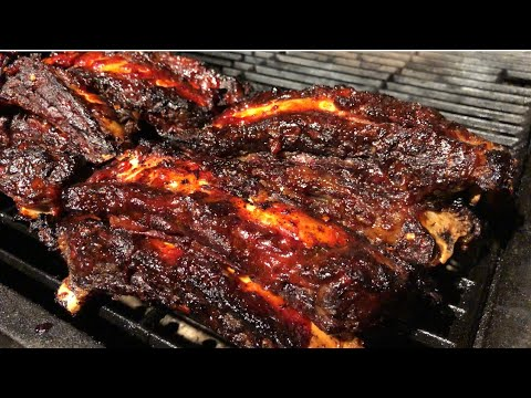 HOW TO MAKE BBQ BEEF RIBS
