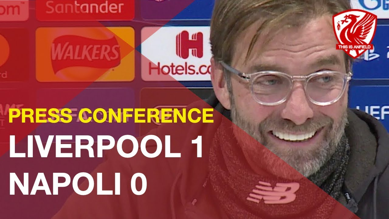 Liverpool 1-0 Napoli | Jurgen Klopp's Post-Match Press Conference - This Is Anfield