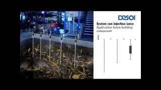 DESOI Глубинное инъектирование в грунт с помощью пакеров Desoi(, 2016-05-18T21:36:09.000Z)
