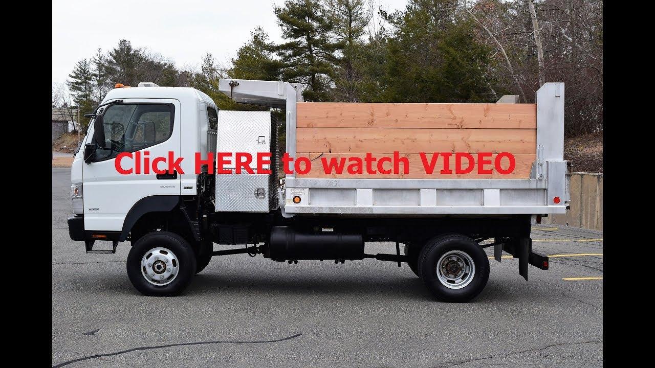 2012 Mitsubishi Fuso FG 4x4 Dump Truck 3 0L Diesel