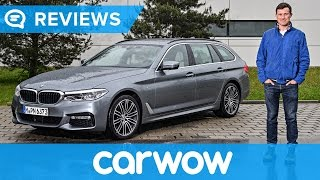 BMW 5 Series Touring 2018 review | Mat Watson Reviews