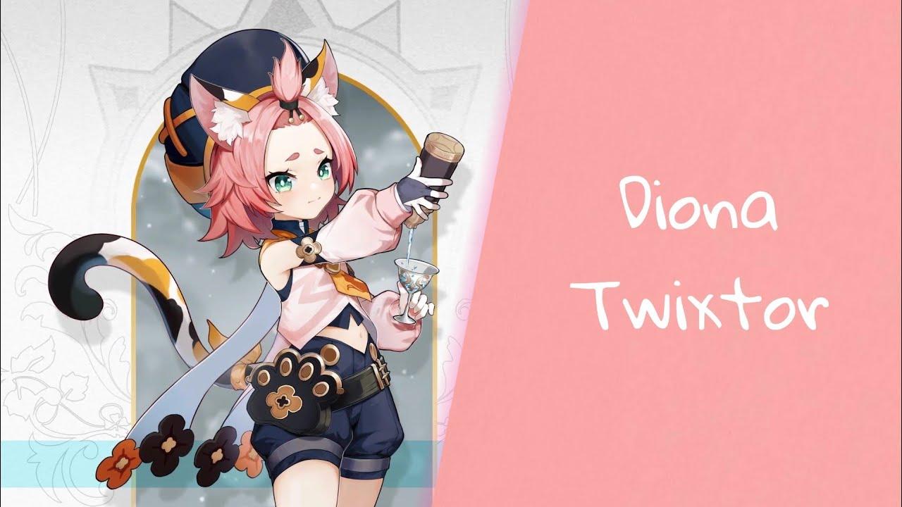 Обложка видеозаписи Diona Twixtor | HD【Genshin Impact】