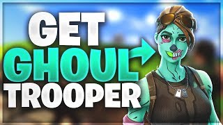 *HOW to GET the GHOUL TROOPER* SKIN for FREE in Fortnite Battle Royale*