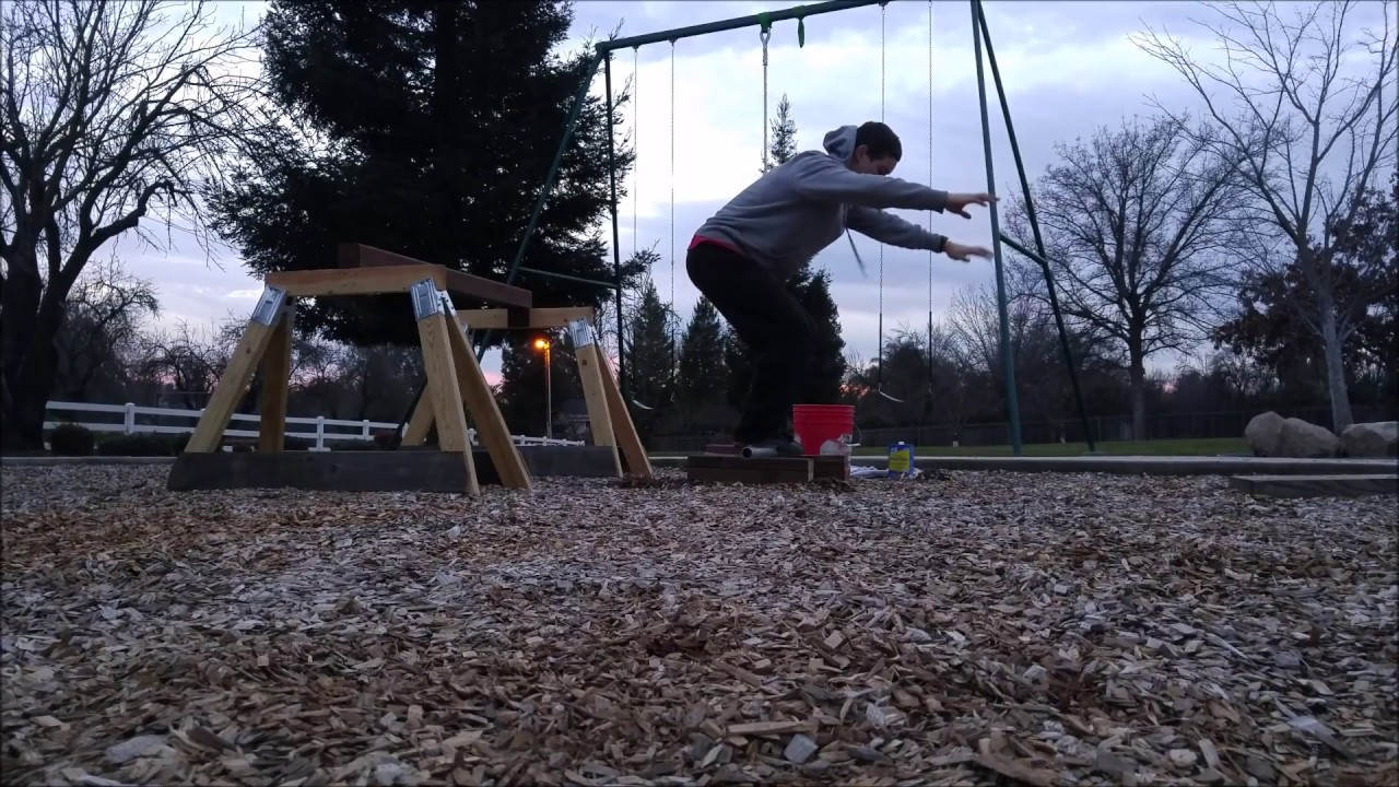 Parkour Precision Training