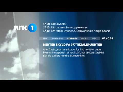 NRK1 Startup 22. juli