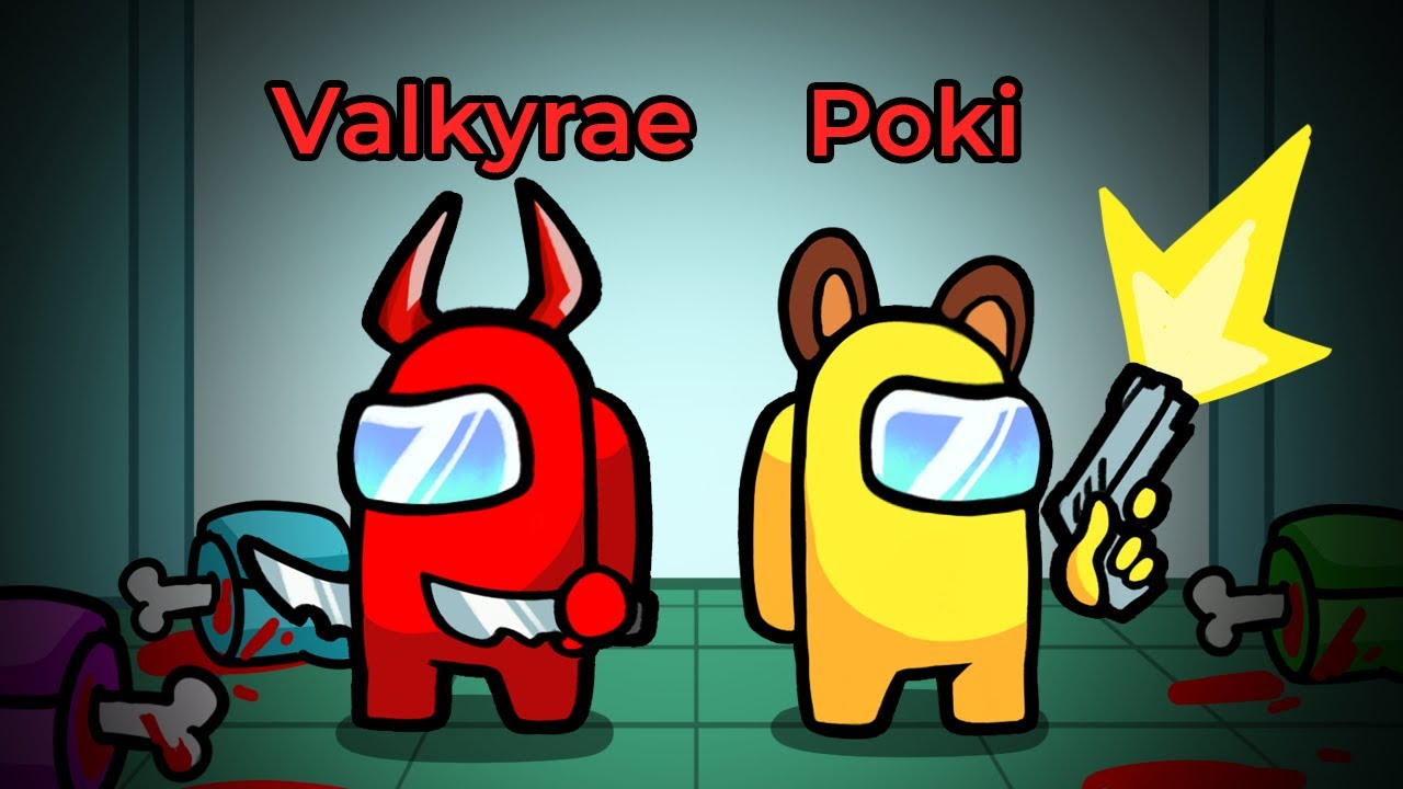 Download the ultimate 999 IQ impostor DUO in Among Us ft. Corpse, Sykkuno, Valkyrae!