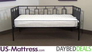 Fashion Bed Group Miami Daybed With Free Mattress