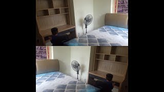 New furniture for our teens girls room / thezunafamily / singapore youtuber