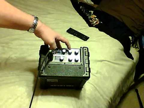 ROLAND MICRO CUBE REVIEW USING ACOUSTIC GUITAR.MP4
