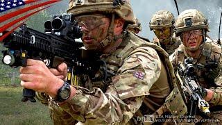 イギリス陸軍歩兵部隊の日中 & 夜間戦闘演習