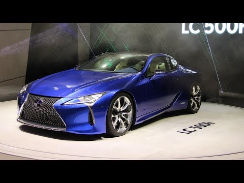 2018 Lexus LC500 - Motor Show Take Review
