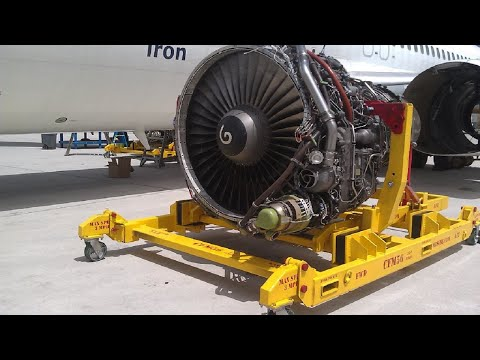 Big Aircraft Engines Start Up And Sound