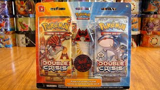 Team Magma Double Crisis Blister Pack Opening