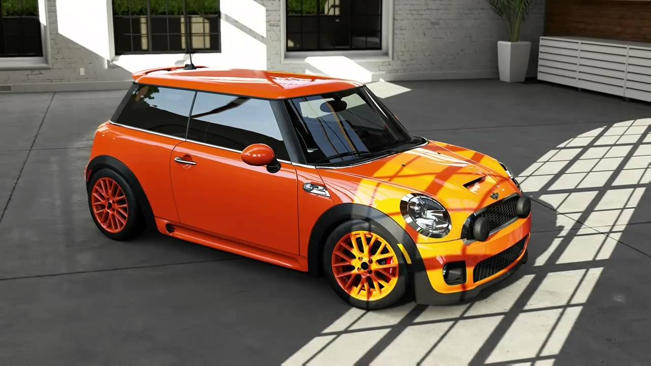 Watch on first mini cooper