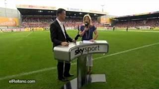 Sky sport commentator fail