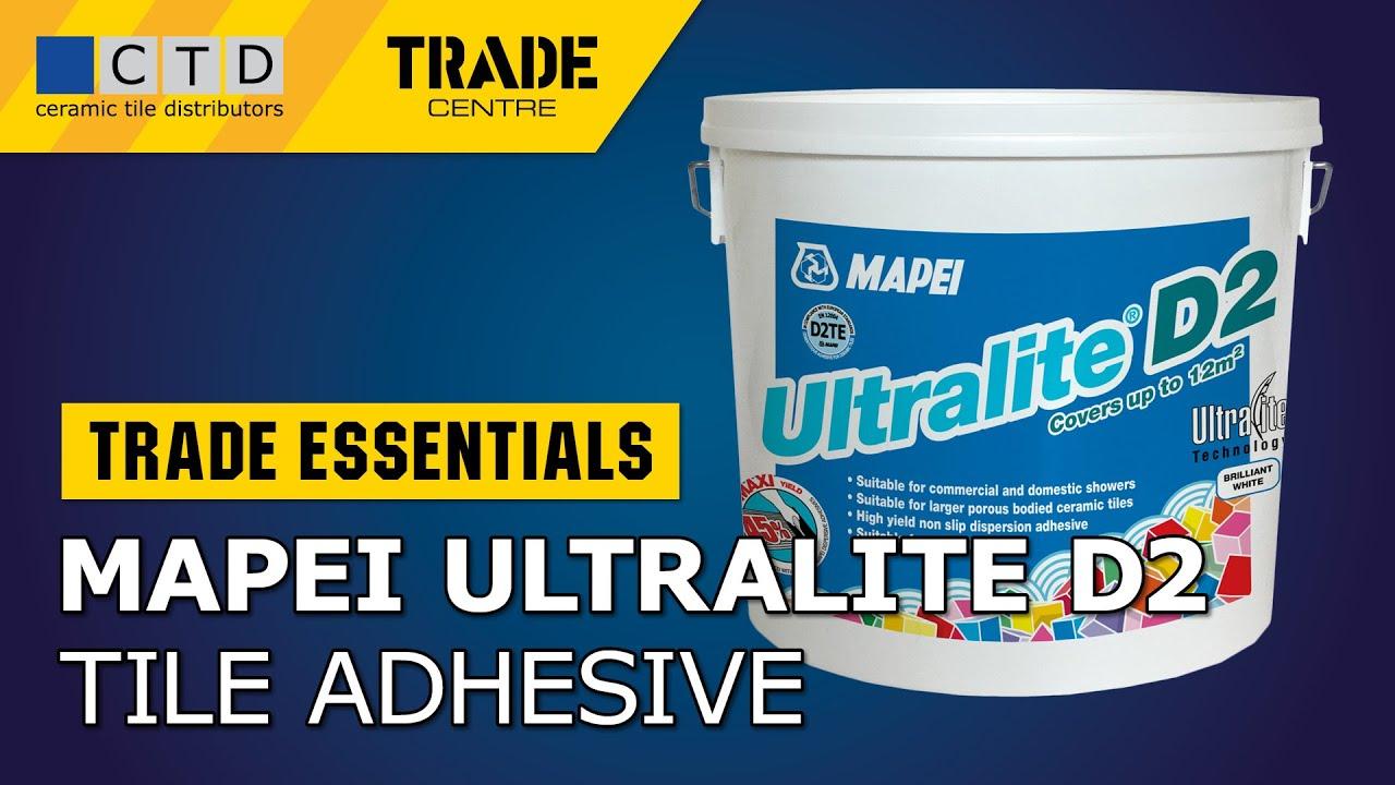 mapei ultralite d2 tile adhesive