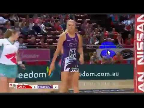 Suncorp Super Netball-New South Wales Swifts W vs.Queensland Firebirds-AUSTRALIA-Round 14