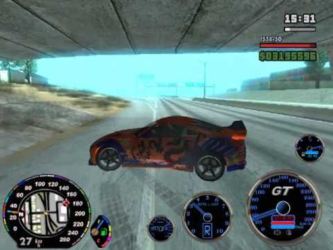 Kl Drift Car Mod Gta San Youtube