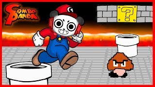 Roblox Mario Advance Obby Ep 2 MARIO PARKOUR ! Let's Play with Combo Panda