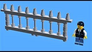 Tutorial - Lego fence (model 1)