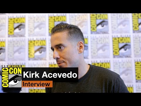 Kirk Acevedo  12 Monkeys at San Diego Comic Con 2015