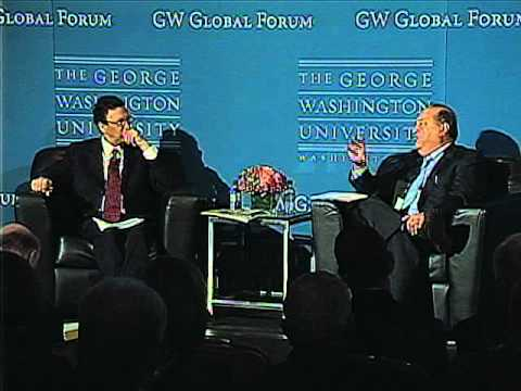 Newsmaker Interview with Carlos Slim at GW Global Forum-NYC, Oct. 29, 2010