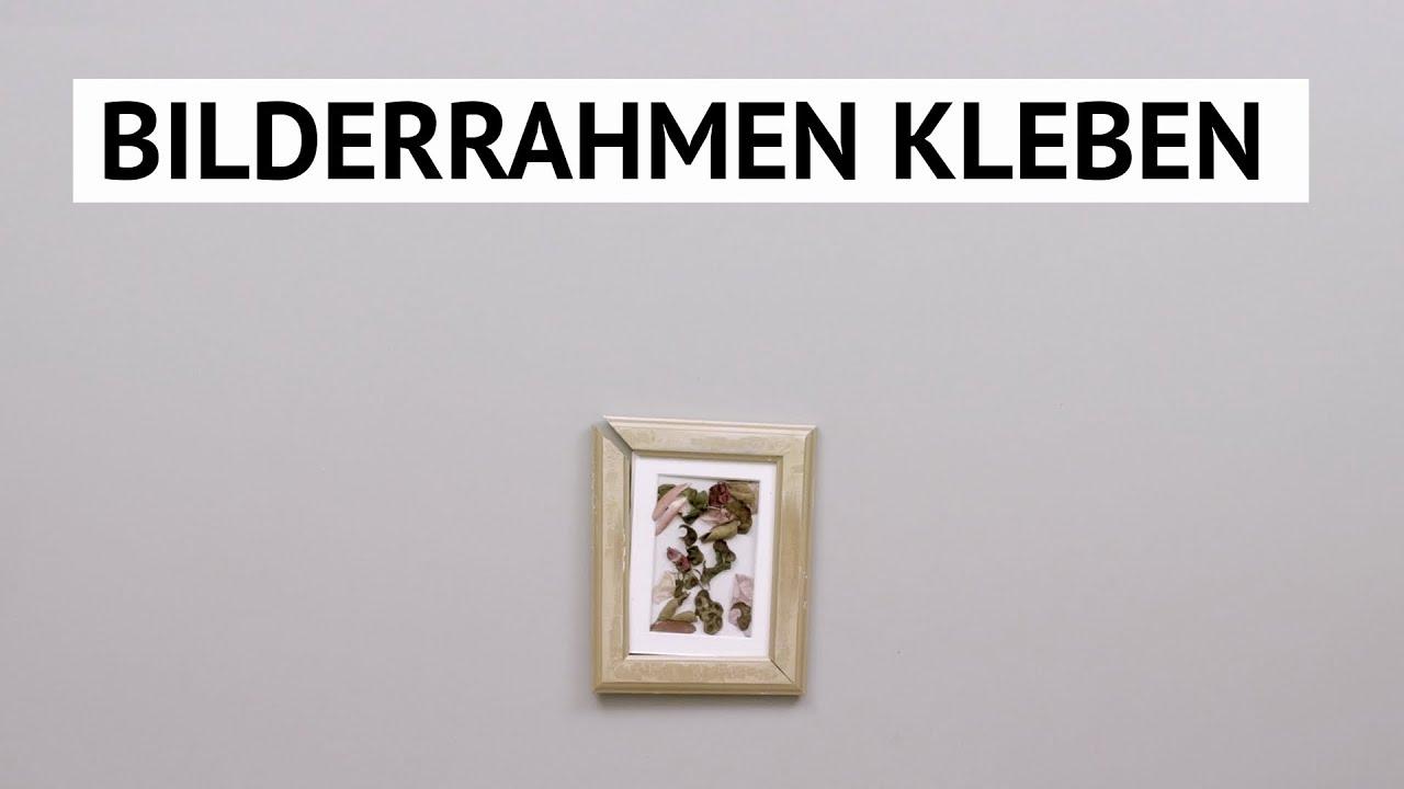 Anleitung: Bilderrahmen kleben! - YouTube
