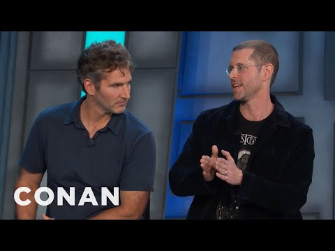 "David Benioff & D.B. Weiss: ""Game of Thrones"" Can Be Dangerously Close To Monty P...   CONAN on TBS"