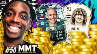 7 MILLION COINS SPENT!🤑💲💲 PRIME GULLIT AND FLASHBACK ROBBEN JOIN MMT!  S2- MMT #50