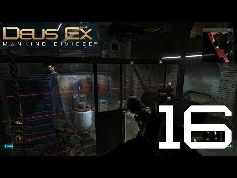 Deus Ex: Mankind Divided: Ep.16 - Purging Neon : Road to Platinum