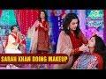 Sarah Khan Doing Makeup - Ek Nayee Subah With Farah   Aplus