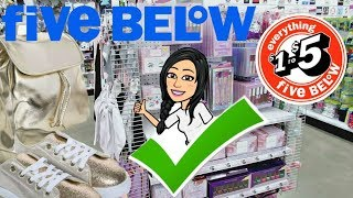 FIVE BELOW SH©P WITH MIMI!!! *$1 to $5* SHOES•NEW FESTIVAL MAKEUP•CLOTHES