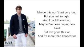 Glee - The longest time lyrics