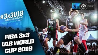 Turkey v USA | Men's Full Final | FIBA 3x3 U18 World Cup 2019