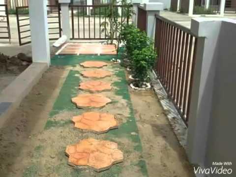 ไอเดียจัดสวนหน้าบ้าน by tang
