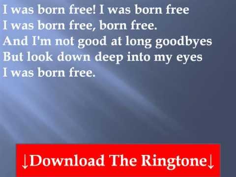 Kid Rock - Born Free Lyrics - YouTube