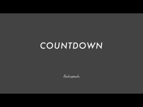 COUNTDOWN chord progression - Backing Track (no piano)