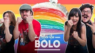 BOLO ARCO-ÍRIS 🍰 🌈 | TODO MUNDO CONTRA DANI feat. NILCE E LEON | DANI NOCE RECEITA