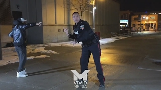 Dancing Canadian cop shows off epic moves during shoot