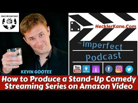 How to Produce a Stand-Up Comedy Streaming Series On Amazon Video