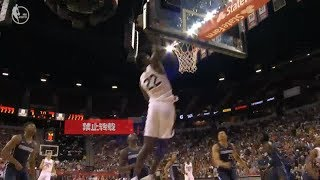 DeAndre Ayton Welcomes Himself To The NBA With Insane Alley Oop!