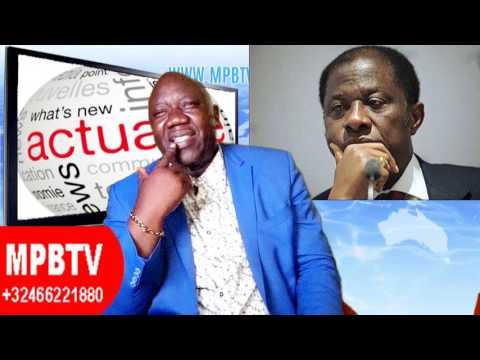 MPBTV ACTUALITE COMPLIQUEE 25MAI- «Deal secret» Angola-Rwanda contre Kabila?Fally provoque à Paris..
