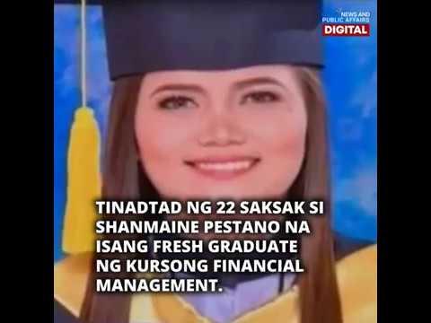 Dalagang fresh grad, tadtad ng saksak