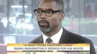 Isaiah Washington on NBC's The Today Show