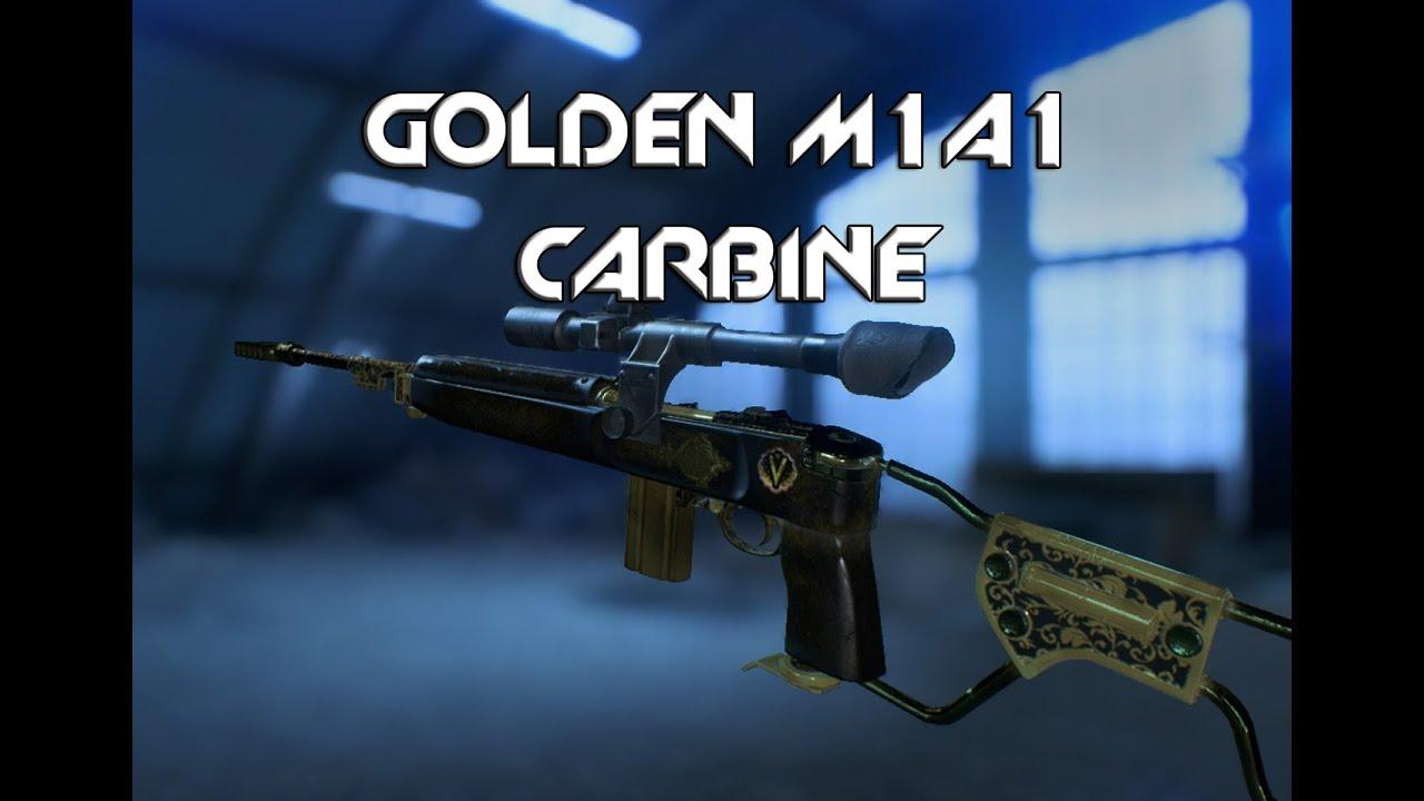 Battlefield 5 Gameplay GOLDEN M1A1 CARBINE!