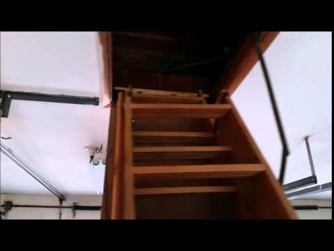 pin stair attic ladder to pictures door springs repair trend ideas doors hinges