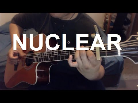 Nuclear - Mike Oldfield Guitar Cover | Anton Betita